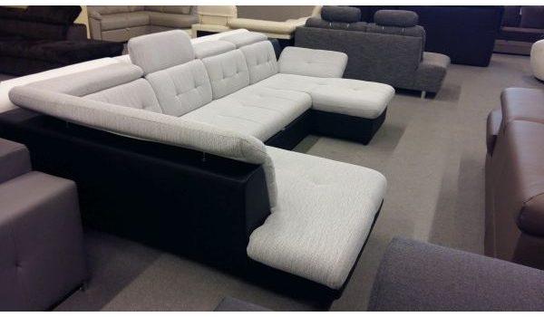 Eternity U-alakú sarok kanapé
