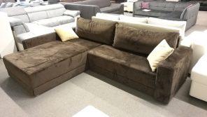 Minőségi szövetkárpitos, kényelmes kanapé