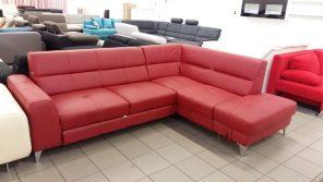Különleges valódi bőr kanapé