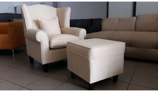 COLMAR fotel + puff