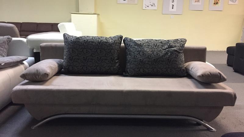 nancy ágynak nyitható, ágyneműtartós kanapé extra díszpárnákkal