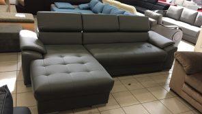állítható fejtámlás sarokgarnitúra kényelmes rugós ülőfelülettel
