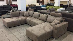 Kényelmes, tágas, rugós ülőfelületű családi kanapé