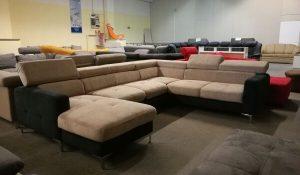 SAMMY U extra U alakú kanapé