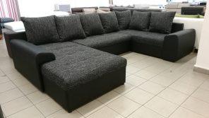 "JOEY I. ""U""alakú kanapé, kényelmes modern bútor"