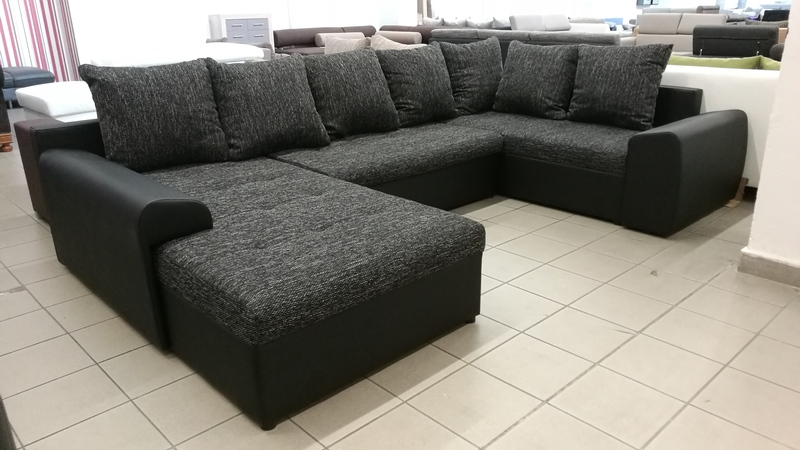 """JOEY I. """"U """"alakú bonell rugós, kényelmes kanapé"""