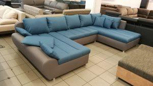 Modern vonalvezetésű, divatos design kanapé