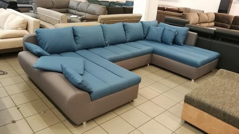 Modern vonalvezetésű, divatos színű kényelmes FIX ülőgarnitúra