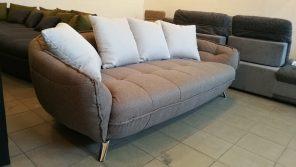 Minőségi alapanyagok felhasználásával készült, modern kanapé