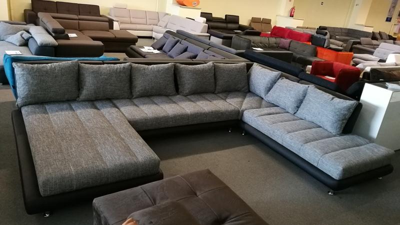 """SWING """"U"""" alakú ülőgarnitúra többféle kárpittal rendelhető modern bútor"""