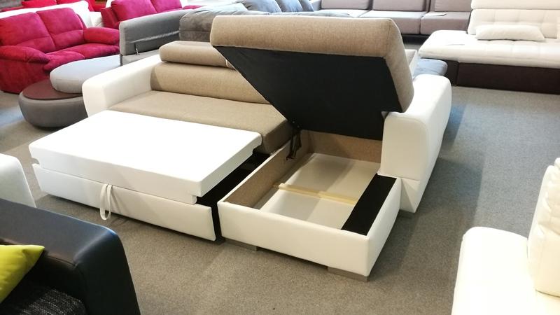 DYB kanapé, óriás ágyneműtartójáért mindenki oda lesz