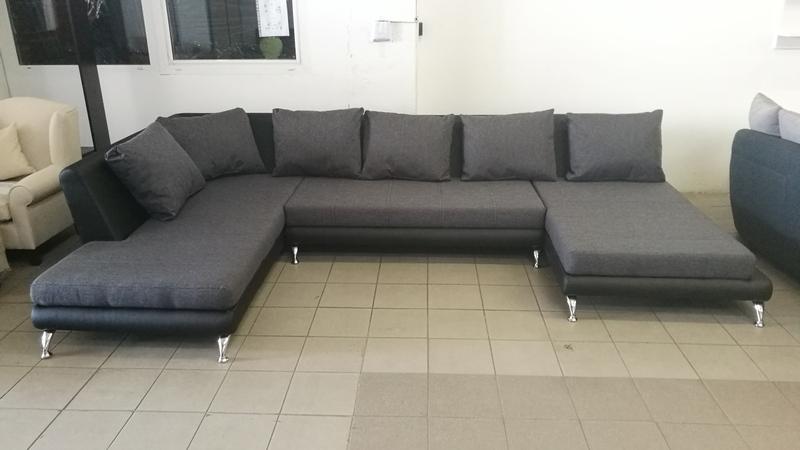 "KAIMAN ""U"" alakú kényelmes, modern design ülőgarnitúra"