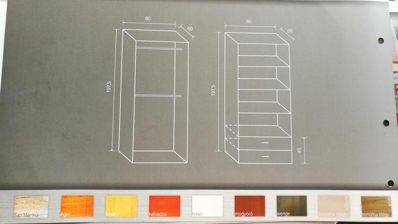 Belső felépítése, rendelhető színei
