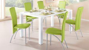 Szép nyugtató zöld színű szék