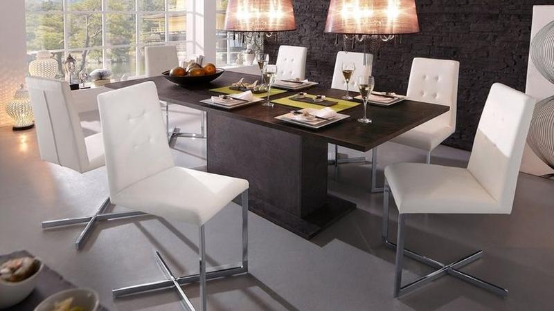 TECHNOS II. bővíthető étkezőasztal