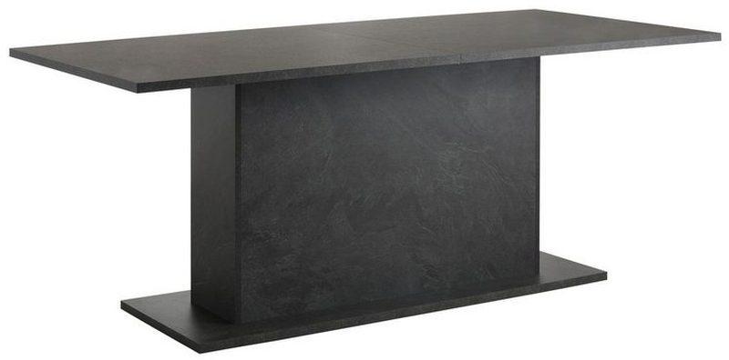 190 cm-re bővíthető, design étkezőasztal