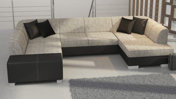 Hawaii U alakú jobbos állású kanapé