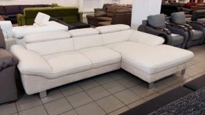 Rugós ülőfelületű elegáns kanapé