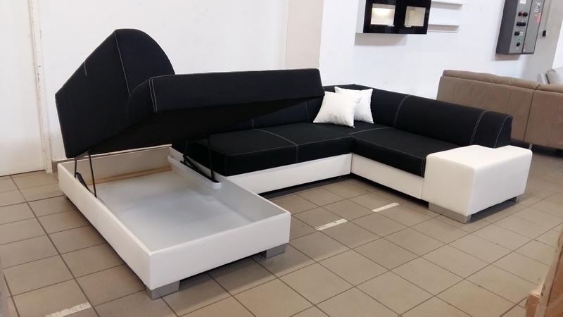 Hatalmas ágyneműtartós kényelmes kanapé