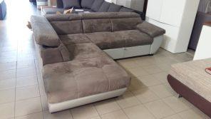 Állítható fejtámlás modern kanapé
