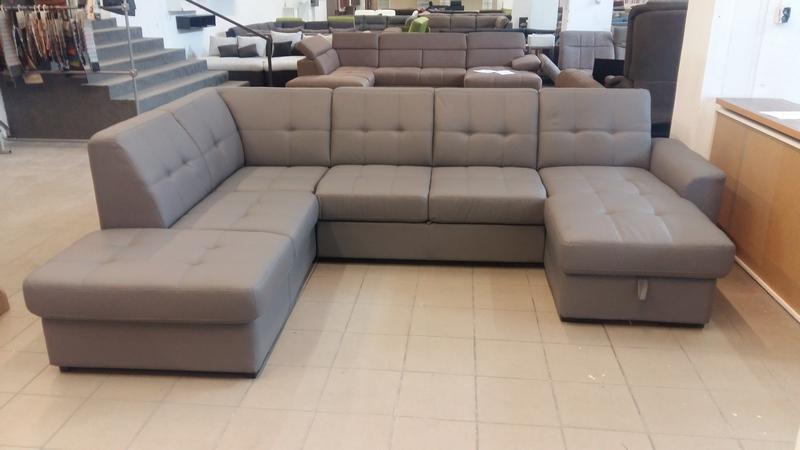 TRACK U alakú, kényelmes családi kanapé