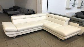 Enterprise hófehér L alakú kanapé