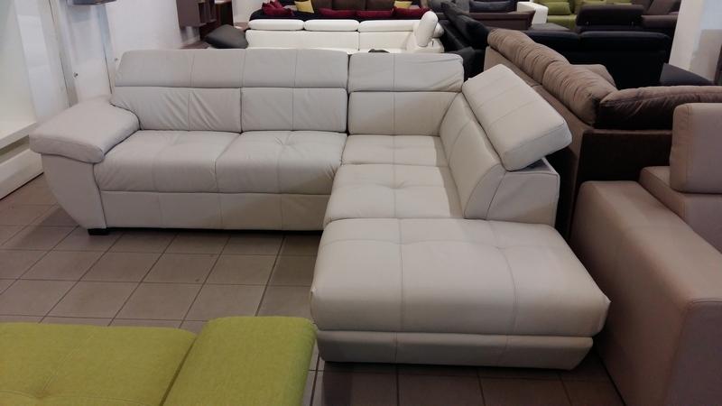 VALÓDI BŐR SPEEDWAY, jobbos állású elegáns kanapé
