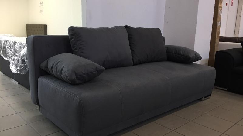 jeff kanapé bőrhatású szövetkárpittal