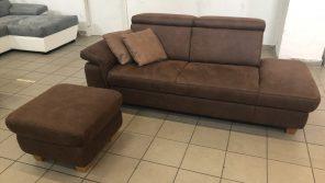 Lava kisméretű kanapé puffal