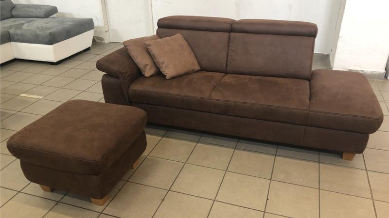 Lava kanapé ájándék puffal