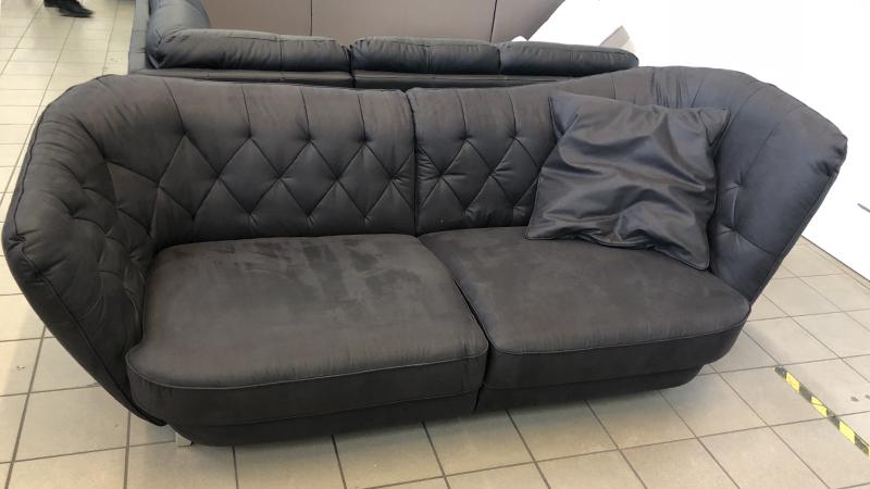 Retro sofa ajándék óriás méretű párnával