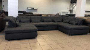 Santa Fe ultramodern U kanapé kényelmi extrákkal