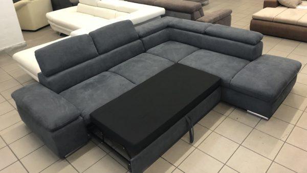 Alcatraz L alakú kanapé vendégágy funkcióval