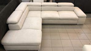 Alkatraz L alakú design kanapé
