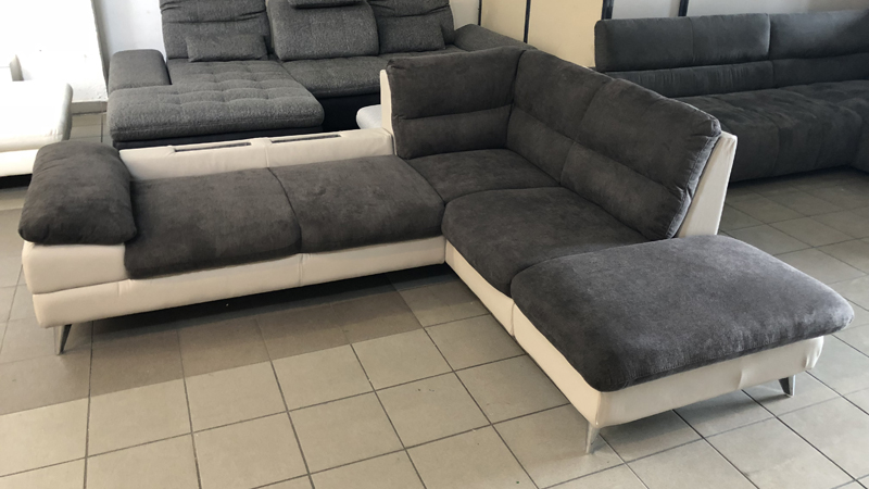 Az Ella kanapé könnyen heverővé alakítható