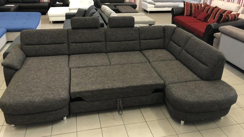 Delano U alakú ággyá nyitható kanapé