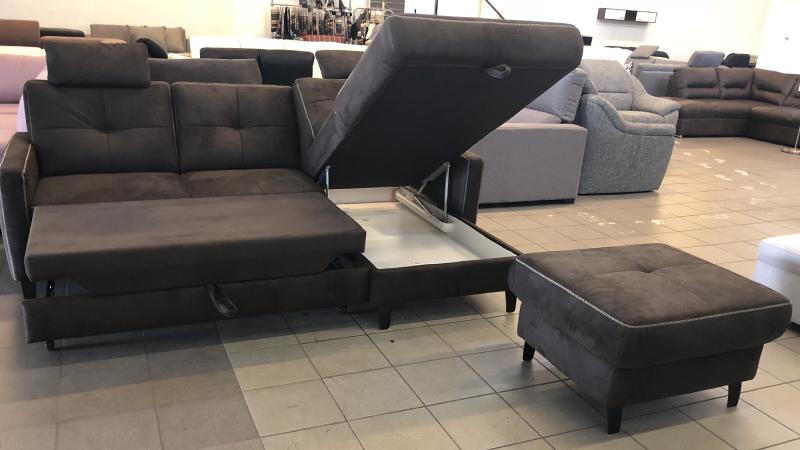 Hybe nyitható, ágyneműtartós kanapé