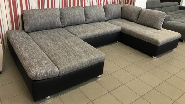 Fabona nagyméretű U alakú kanapé