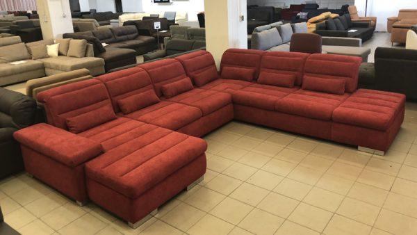 Nevada hatalmas U alakú kanapé