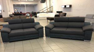 Xenia Duo kanapépáros állítható fejtámlákkal