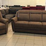Katherina kanapé és fotel fahéj színben