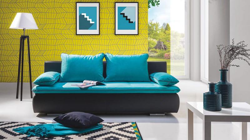 Diego letisztult formájú sík kanapé