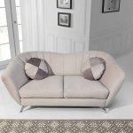 Vittorio kényelmes, fix design kettes kanapé