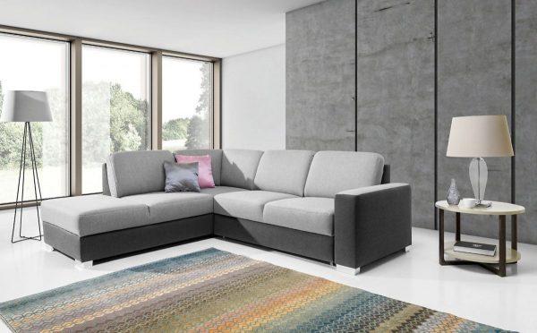 Chantal L sarokkanapé minimalista design