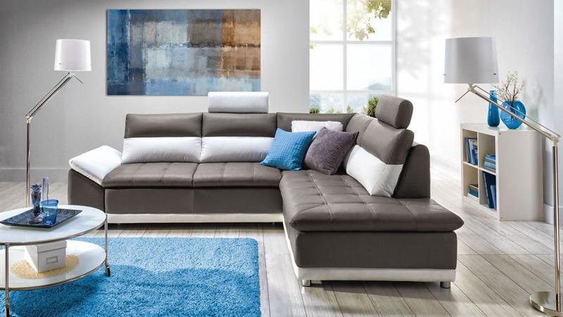 Manilla divatos L alakú kanapé