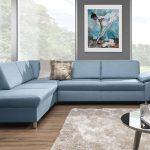 Niagara minimalista formavilágú L alakú kanapé