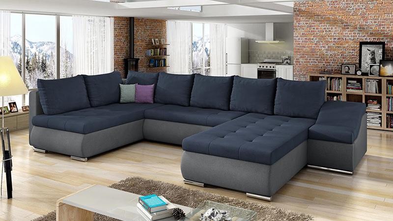Pissaro U alakú kanapé