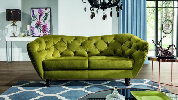 Wenecja íves támlás sofa