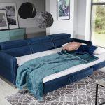 Marozzo sarokkanapé ágynak nyitva