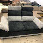 Manila két személyes kanapé ergonomikus kialakítású fejtámlákkal